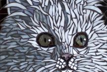 Katten mozaiek
