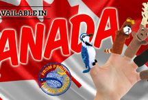 Finger Puppets Inc. IN CANADA!!! / Peruvian finger puppets in Canada!