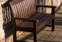 "POLYWOOD Benches / Outdoor Benches in the early 1800s were for people less worthy to sit in a chair. Hence the term ""chairman"". Maybe not a good selling point for buying POLYWOOD Benches, but never the less an interesting fact. In the early 1900s outdoor benches took on a life of their own."