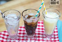 Refreshing Everyday Beverages / Spice up your beverage game with delicious iced tea, spritzers, shaved ice and more!