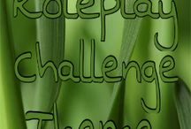 Roleplay Challenge Prompts! / I'll post any theme ideas I have and you guys can too! DO NOT ROLEPLAY HERE PLEASE!