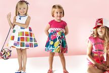 Over the rainbow s/s 2015 / For the upcoming Spring summer in the fashion world for children will find glittering fantasies different but harmonically related to each other and a rainbow of color will explode in clothing and accessories for small fashionistas.