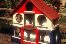 My DIY Birdfeeders / Bird feeders and bird houses