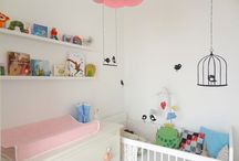 our Baby Room / unser kleines, rosa, mini Babyzimmer / by sweettimes.at