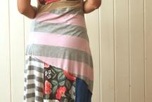 upcycle tee dresses