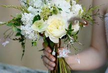Bruid blomme en bouquets