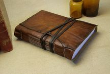 JM: leather books