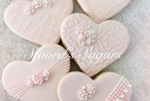 Biscoitos Corações