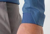 Мужские рубашки в деталях