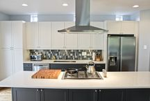 South Loop Townhouse Remodel / Complete Kitchen, Bathroom, attic and floor remodel of South Loop townhouse, Chicago IL