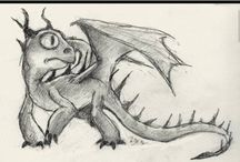 Dragon drawing / How ever did I draw that