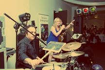 Melbourne Wedding Band / Hire our modern and fun Melbourne wedding band for your special day.  Sensation Band will have all your guests up and dancing the night away!  #melbourneweddingband #weddingbandmelbourne