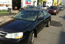 Used 2003 Acura TL for Sale ($4,299) at Paterson, NJ / Make:  Acura, Model:  TL, Year:  2003, Body Style:  Tractor, Exterior Color: Black, Vehicle Condition: Excellent, Mileage:151,400 mi,  Engine: 6Cylinder V6, 3.2L; SOHC 24V, Transmission: 5 Speed Automatic, Fuel: Gasoline Hybrid.   Contact;973-925-5626   Car Id (56681)
