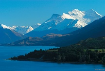 Trip to New Zealand / Collection of places in New Zealand I'm going to visit very soon