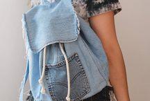 DIY Jeans Backpack