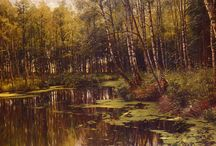 Artist Peder Mork Monsted