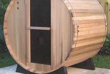 BARREL SAUNAS / A barrel saunas works in much the same way as a traditional steam sauna. The temperature and humidity inside the sauna are controlled by pouring water onto hot stones in short bursts which generates a cloud of steam. The steam heats up the air temperature inside the sauna and increases the level of humidity. For more- www.saharavalley.co.uk