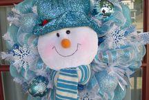 Dekorace - zima, vánoce