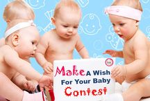 Wish From Santa Contest / Farlin India invites moms of young baby/toddlers to participate in #wishfromsanta contest. Send us what you wish from Santa for your baby and Farlin will fulfil your wish.