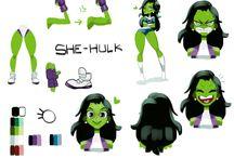 Jennifer Walters aka She Hulk