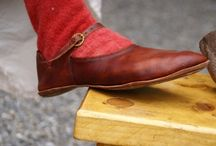Late medieval footwear (cipők - középkor vége)