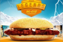 The Mysterious Cult of the McRib / This is by no means an endorsement of the McRib, in fact I think it's flat out disgusting – tried it once when I was 11 and that did it for me – but am amazed at the popularity and notoriety it has gained over the years. McD's strategy of injecting (and that's a good word for it) into their product mix for very short periods of time has served them extremely well. Else, it would have died a quick death years ago. / by Scott Williams