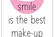 SMILE / I dare you not to smile! / by The Blossom Shop
