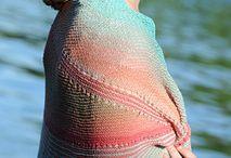 Shawls - sjaler / Sjaler i alle afskygninger