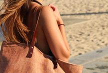 Summer Tote Bag / The beach bag is really comfortable, big and perfect for the summer. You can use it with anything you want to wear and take it everywhere.