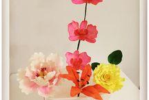 Şeker Hamurundan Çiçek