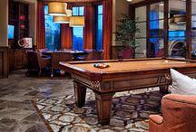 Billiards Room / by Ann Kenkel Interiors
