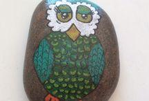 Eva P sten - stonepainting / Painted stones
