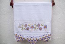 Handmade Crocheted Kitchen Towel