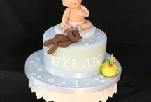 Baby Shower, Naming Day & Christening Cakes / Cakes designed for Baby Showers, Naming Day Celebration and Christenings.