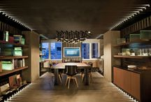 office space / #architecture #design #Atelier187 #atelier #wood #metal #contemporary #modern #urban #lighting