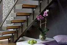 Escadas e corremaos