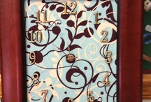 My designs I made  / This board is stuff I have made  / by Tonya Dyer