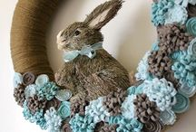 Holiday Easter wreath / by MaryAnn Urbanik