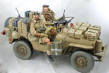 military scale model