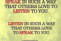 Wijze woorden / quotes
