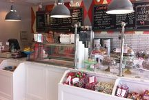 ice cream shop ideas / by Emily Brown