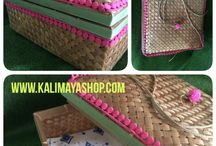 gift box / bamboo gift box 25 x25 x9 contact cs@kalimayashop.com