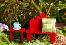 Fairy garden furniture