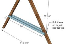 A- frame swing