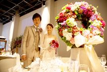 Inside Garden Wedding / 花いっぱいに包まれる室内型ガーデンウェディング