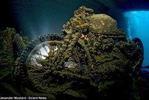 Proyectos que debo intentar, sección: submarinismo / es la sección dedicada a una de mis pasiones el submarinismo o buceo / by Tenny Pedron Pellizzari