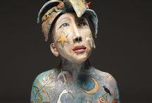 sculpture and ceramic figurative