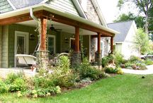 front porches / by AnUdder Chance Farm