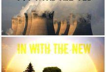 Uusiutuvat energialähteet ovat tulevaisuutta / Uusiutuvaa, puhdasta ja saasteetonta energiaa kaikille.