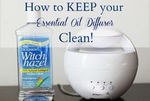 Diffusing and essential oils